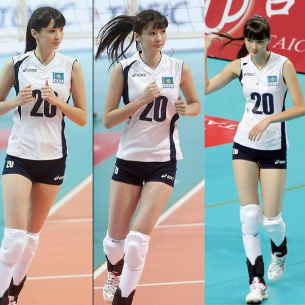 Pemain voli cantik asal Kazakhstan, Altynbekova Sabina.