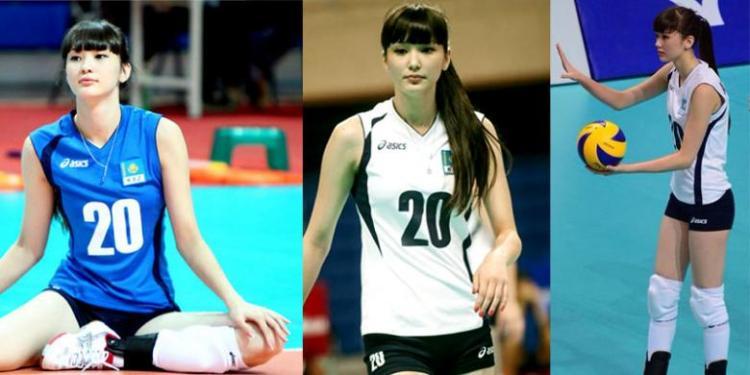 Atlet Voli Cantik Kazakhstan