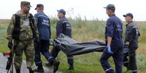 ditempat kejadian MH17