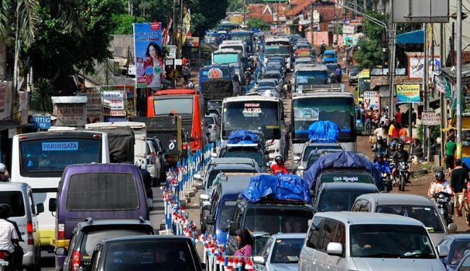 Jalur mudik Pantura Jawa Barat