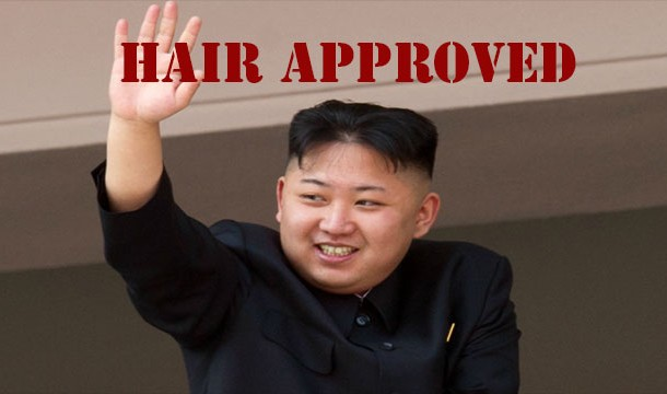 Rambut Wajib Kim Jong Un